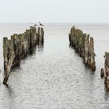 Старые мостки на Рижском заливе