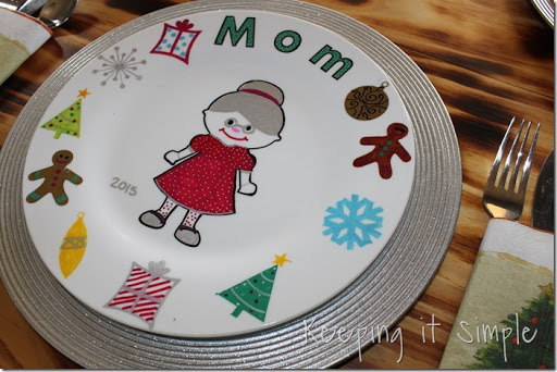 DIY-Personalized-Christmas-Dinner-Plates (16) & Christmas Family Tradition- DIY Personalized Christmas Dinner Plates ...