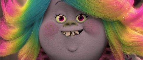 Bridget aka Lady Glittersparkles in TROLLS