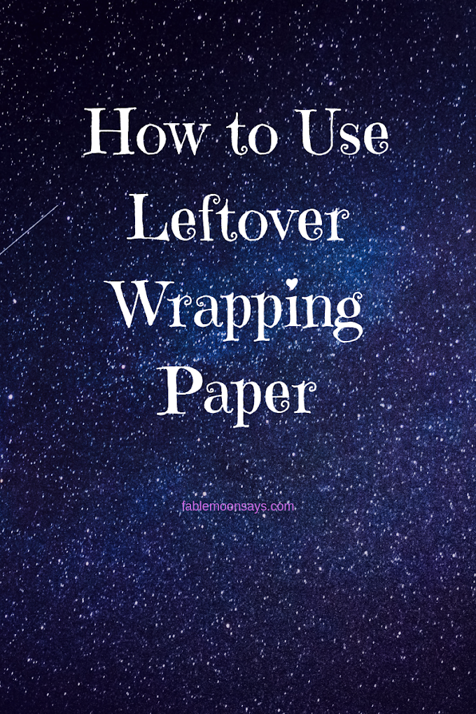 How to Use Left over Wrapping Paper
