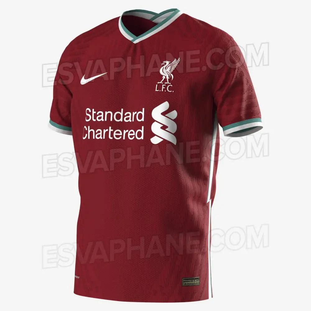 gambar ringan Bocoran Jersey Liverpool 2020/2021