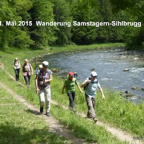 Wanderung: Samstagern-Sihlsprung-Sihlbrugg