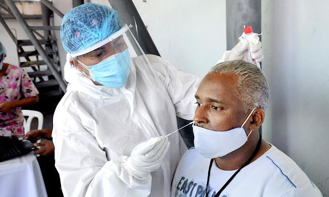 Salud Pública reporta 1,238 nuevos casos y otras 5 muertes por covid; ocupación UCI se ubica en un 70%