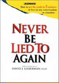 Cover of David Lieberman's Book Never Be Lied To Again.mp3