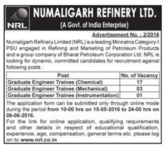NRL Recruitment 2016 indgovtjobs