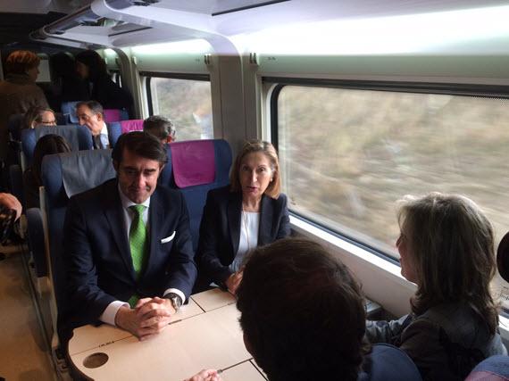 Salamanca quedará conectada por tren AVE con Madrid en hora y media