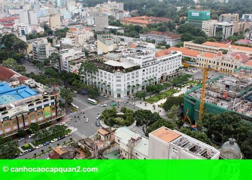 Hình 1: Giá đất ở đâu đắt nhất Việt Nam?