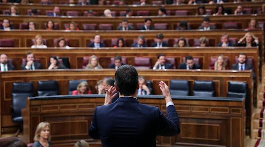 Sánchez, sin la investidura pero con la mayoría para mañana