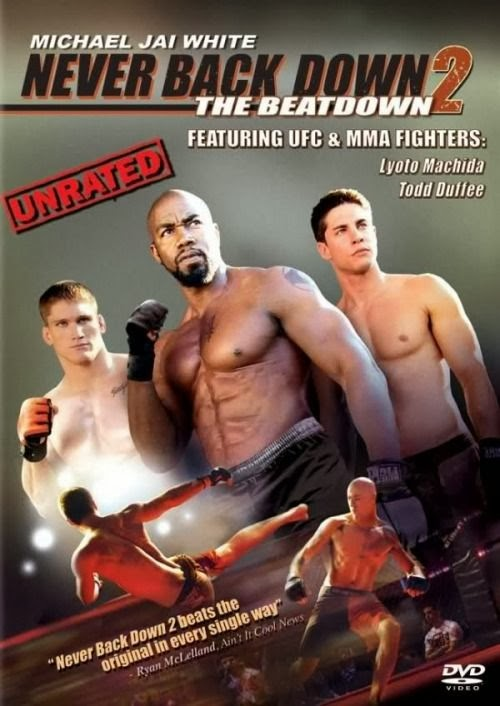 Poster Of Never Back Down 2: The Beatdown (2011) Full Movie Hindi Dubbed Free Download Watch Online At Alldownloads4u.Com