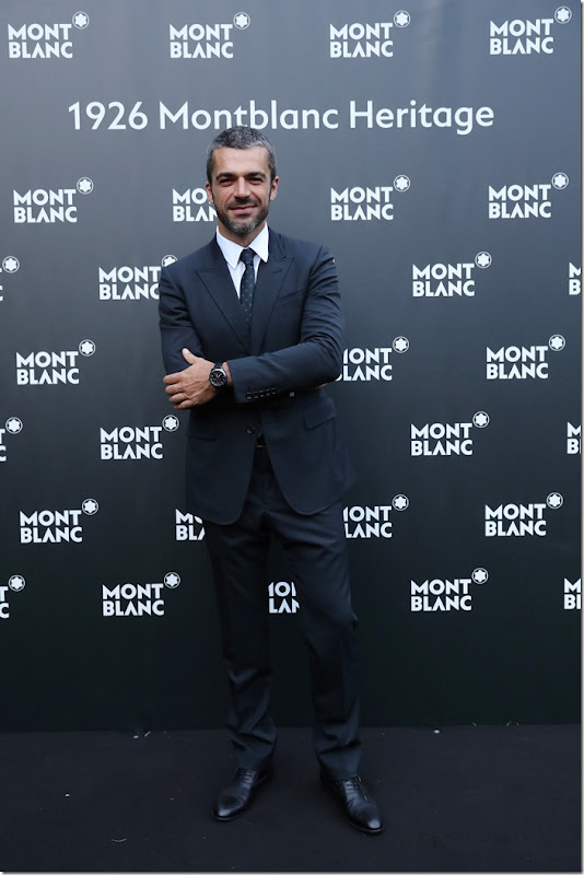 FLORENCE, ITALY - JUNE 14:  Luca Argentero attends  '1926 Montblanc Heritage Launch event' on June 14, 2017 in Florence, Italy.  (Photo by Vittorio Zunino Celotto/Getty Images for Montblanc)