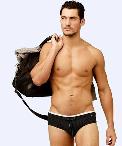 David Gandy, en calzoncillos