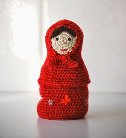 Russian Doll Amigurumi Crochet Pattern PDF Babushka Pattern | Etsy | 552x504