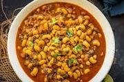 Punjabi Lobia Curry Recipe