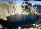 Panoramique sur le lac di Capitello