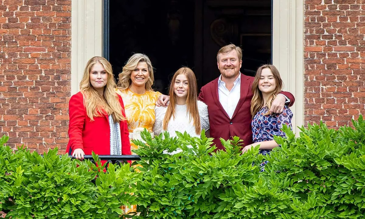 King Willem-Alexander Shares Photo of Princess Alexia as she Leaves for College