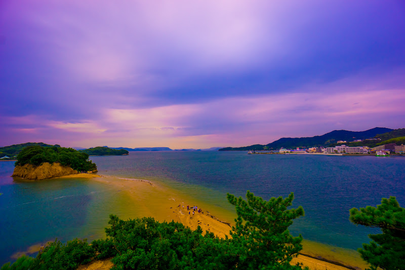 小豆島 エンジェルロード 約束の丘展望台 3