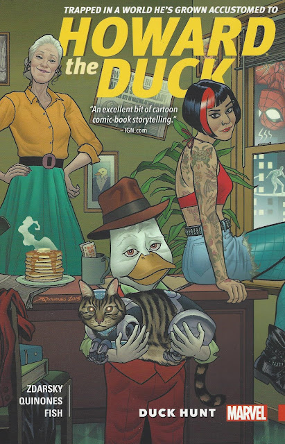 Howard the Duck, v. 1: Duck Hunt cover
