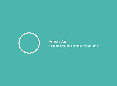 Fresh Air - A Simple Breathing Tool