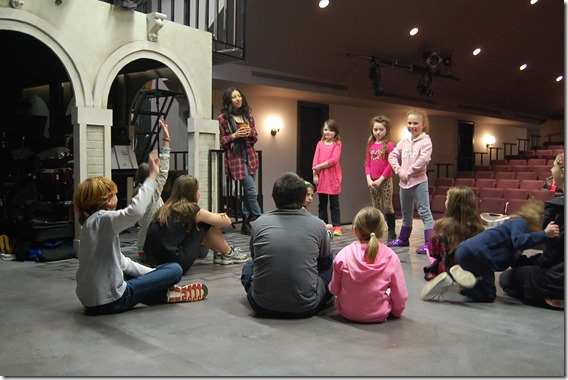 5 STAGES Theatre Camp - photo by Jenna Rocca