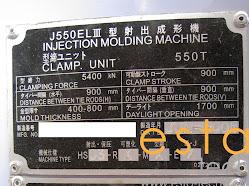JSW J550ELIII-1400H (2006) Electric Injection Moulding Machine