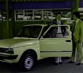 Campanha das Concessionárias Fiat nos anos 80 com o correspondente internacional da Globo, Really Júnior.