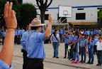 Jose Manuel Varela, Sub-Jefe de Grupo, renovando Promesa para recibir su Insignia de Madera Foto tomada por: Jesús David Pérez Romero