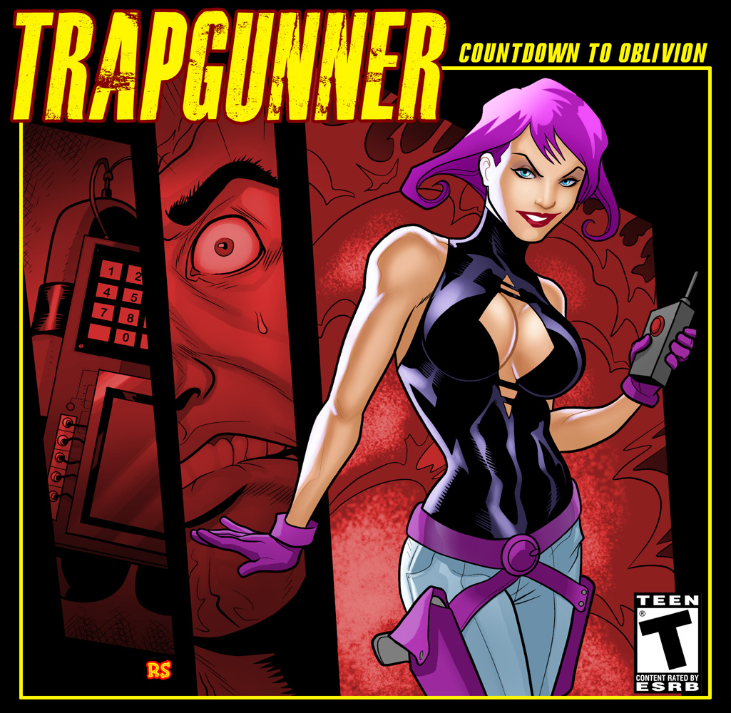 Rusty Shackles' Cover For Trap Gunner