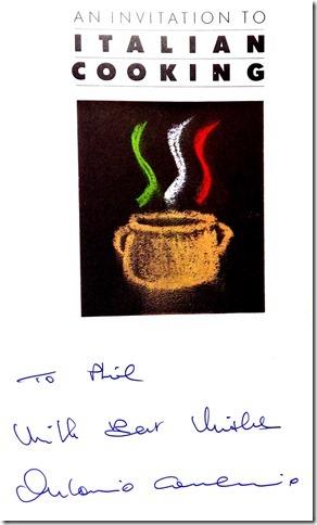 Antonio Carluccio's Italian Cooking