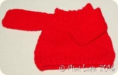 Truc ze bidule - Le loup du mardi en pull rouge