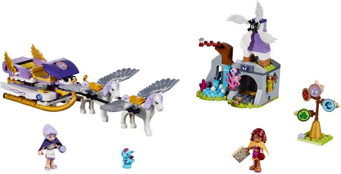 Contenido de Lego® 41077 El Trineo de Pegasos de Aira