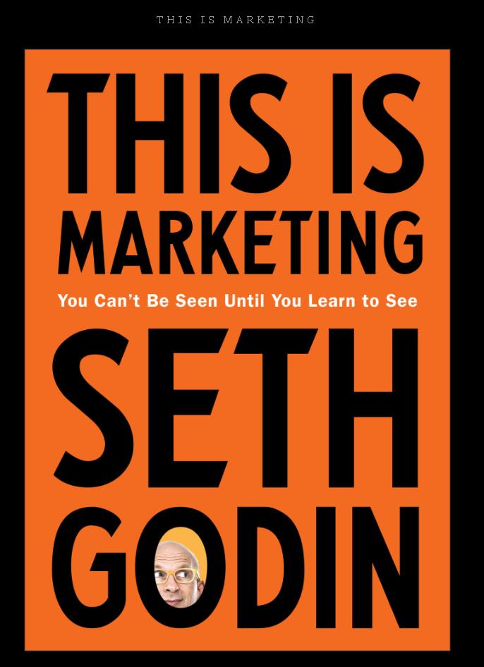 Review buku This Is Marketing karangan Seth Godin