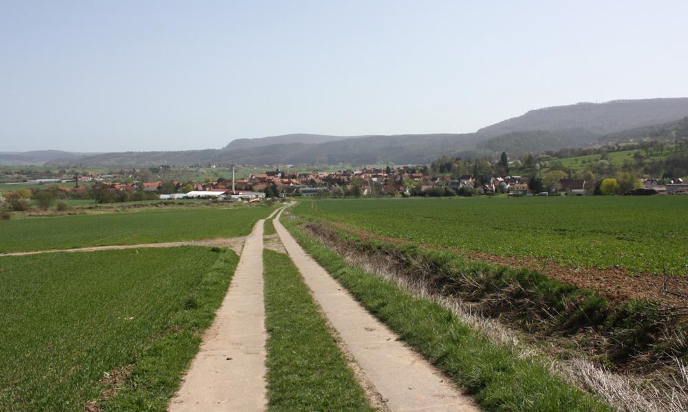 Grossburschla im Panorama
