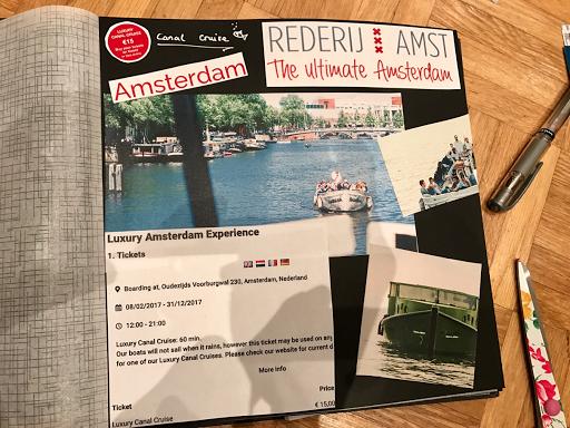 Amsterdam Grachtenfahrt mit dem Boot