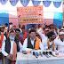 शिवसेना  जांजगीर चांपा  जनपद पंचायत नवागढ़ के सामने एक दिवसीय धरना प्रदर्शन किया गया