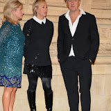 WWW.ENTSIMAGES.COM -  Alison Evers, Shirley Kemp and Steve Dagger   arriving at    Soul Boys Of The Western World - UK film premiere at Royal Albert Hall, London September 30th 2014Premiere of documentary about the group, charting their rise to fame in the 1980s - Spandau Ballet The Film                                                    Photo Mobis Photos/OIC 0203 174 1069