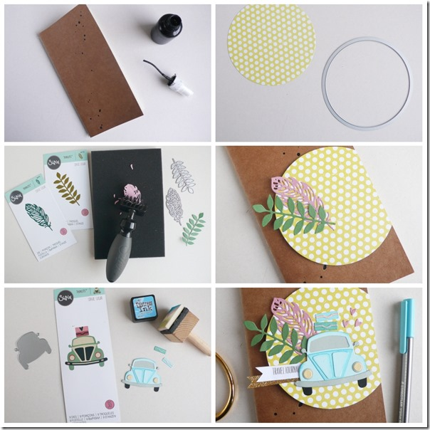 how-to-make-travel-journal-open-road-sizzix-step-by-step