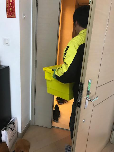 [LIFE] Yellow box 搬屋暫存好幫手