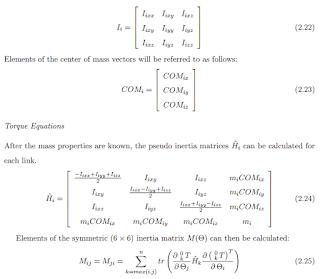 calculate inertia matrix by robotics toolbox - Google Groups