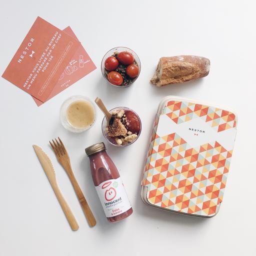 nestor livraison paris déjeuner lucileinwonderland blog lifestyle voyage food plat healthy