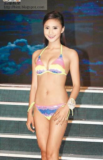 歐陽巧瑩曾參選2013年港姐,並奪得友誼小姐獎。