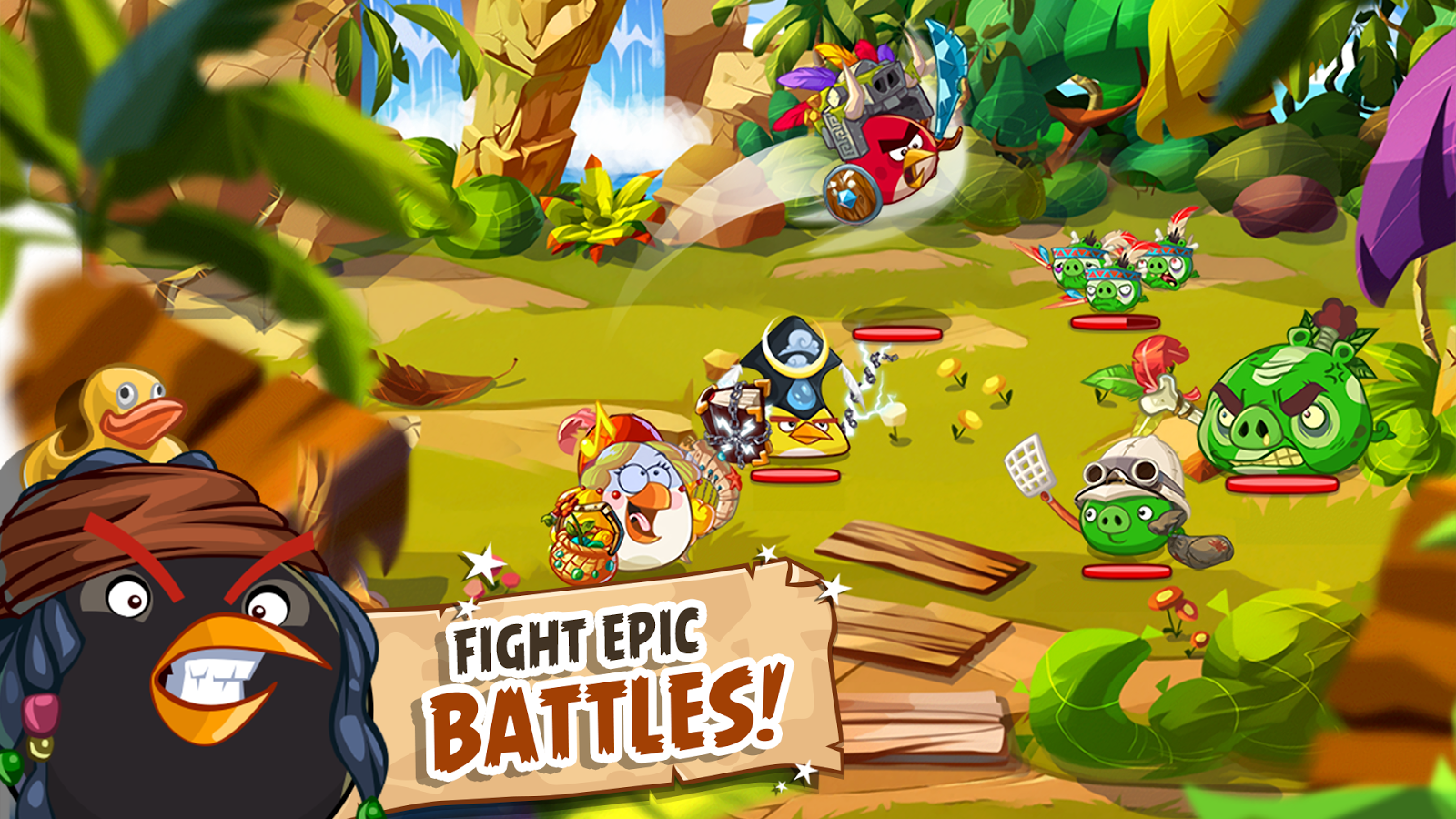 Screenshots of Angry Birds Epic RPG for iPhone