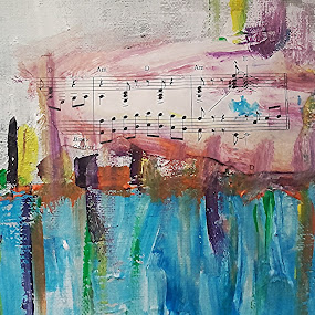 When my life was a song by Vanja Škrobica - Painting All Painting