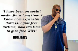 Don Jazzy Launches Free WiFi Service In Lagos Nigeria To Make Internet Free To All