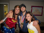 Wonder Woman, Michael Phelps, and a Deviled Egg (She's missing the horns)