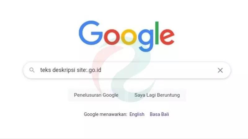mencari sumber belajar di google