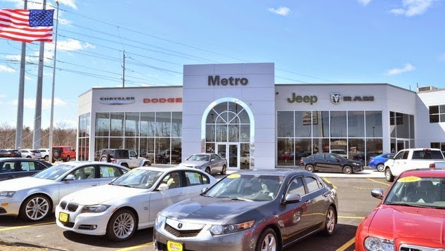 Metro Chrysler Dodge Jeep Ram Dealer in Chicopee, MA