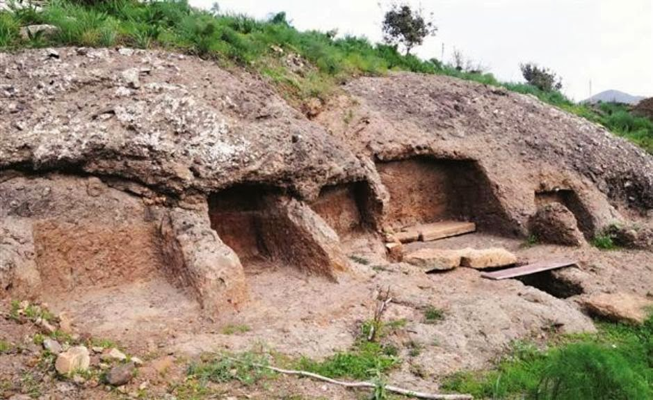 Near East: Hellenistic tombs to be buried under road