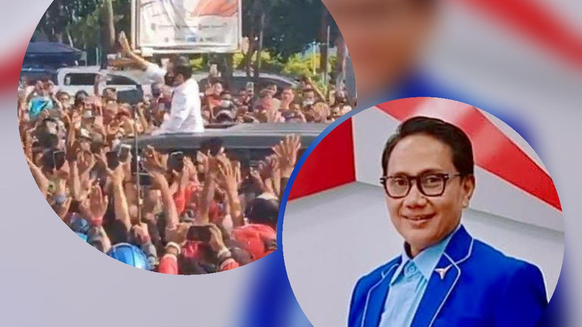 Kerumunan Sambut Jokowi di NTT, Yan Harahap: Penindakan Prokes Hanya Berlaku pada 'Lawan'