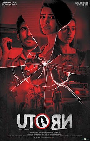 Poster Of U Turn In Dual Audio Hindi Telugu 300MB Compressed Small Size Pc Movie Free Download Only At worldfree4u.com