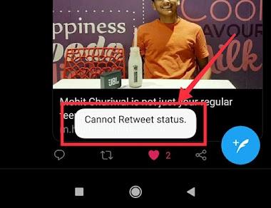 """Cannot Retweet Status"" in Twitter | I'm Not able to Tweet or Re Tweet"